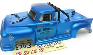 Arrma NOTORIOUS 6s BLX - Body Shell (BLUE polycarbonate outcast cover ARA8611v5