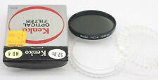 Kenko 52mm ND 4 Screw On Filter W/Case Japan - USED - Y302