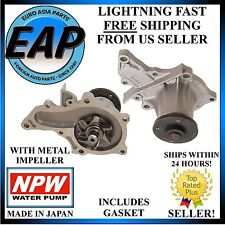 For Toyota Celica Corolla 4AFE Engine Geo Prizm 1.6L Japanese NPW Water Pump NEW