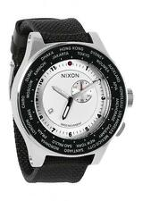 ***NEW IN BOX*** Nixon Passport White Silver Navy Wrist Watch A321-1433