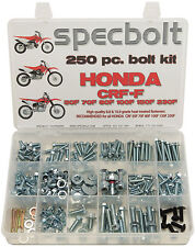 250pc Honda CRF 50F 70F 80F 100F 110F 150F 230F Specbolt Motorcycle Bolt Kit XR