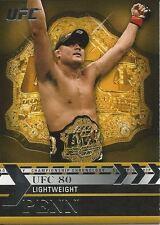 BJ Penn 2011 Topps UFC Title Shot Championship Chronology Card # CC45