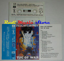 MC PAUL McCARTNEY Tug of war 1982 PARLOPHONE 1 stampa ITALY cd lp dvd vhs*