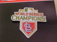 ST LOUIS CARDINALS 2011 WORLD SERIES CHAMPIONS PIN  IMMEDIATE SHIPPING