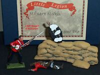 LITTLE LEGION Z/50 ZULU WAR BRITISH 24TH FOOT + ZULU IN JACKET TOY SOLDIER SET