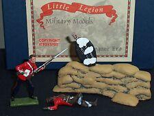 LITTLE LEGION Z/50 ZULU WAR BRITISH 24TH FOOT + ZULU IN JACKET TOY SOLDIER SET