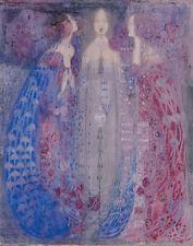 Mackintosh Macdonald Margaret The Three Perfumes Print 11 x 14   #3726