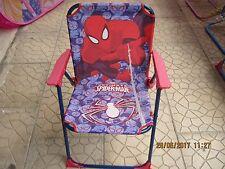 Spiderman SEDIA pieghevole Giardino Mare Bambino cameretta spiaggia OFFERTISSIMA