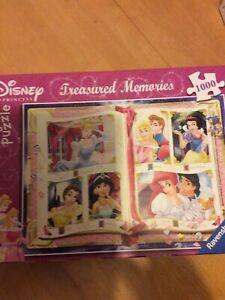 Disney Princess Treasured Memories - Ravensburger 1000 Piece Jigsaw Puzzle