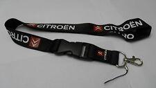 Portachiavi laccetto porta badge cellulare CITROEN c1 c3 c4 c5 ds3 ds4 picasso