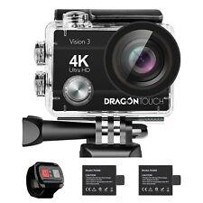 Camara De Accion 4K 16Mp Vision 3 Camara Sumergible A Prueba De Agua 170 Wi
