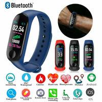 M3X Smart Watch Heart Rate Blood Pressure Monitor Sports Bracelet Tracker P7A2