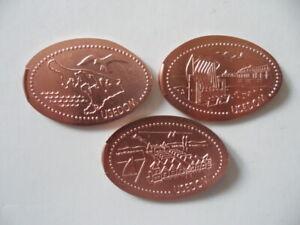 Elongated Coin Bansin Komplettsatz 1