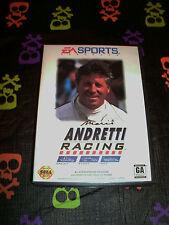 Mario Andretti Racing COMPLETE (Sega Genesis, 1994)