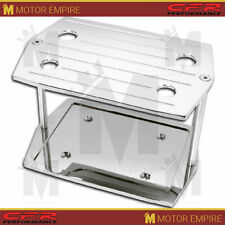 For Chevy Ford Mopar Ball Milled Chrome Billet Al Optima Group 35 Battery Tray