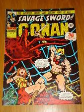 CONAN SAVAGE SWORD #4 BRITISH WEEKLY 1975 MARCH 29TH
