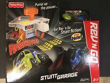 NEW Fisher Price REV'N GO Stunt Garage