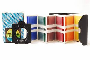 @ Ship in 24 Hours! @ Kenko Technical Holder 52mm & 6 Acry-Color Filters