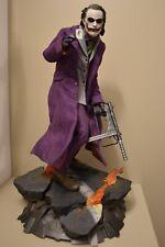 The Joker Premium Format Figure 1/4 Statua SideshowBatman The Dark Knight