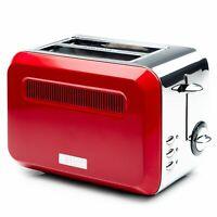 Haden Boston Pyramid 2 Slice Toaster Red 2 Year Guarantee