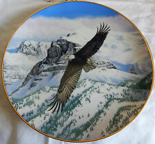The Eagle Soars Plate From Majesty Of Flight The American Bald Eagle