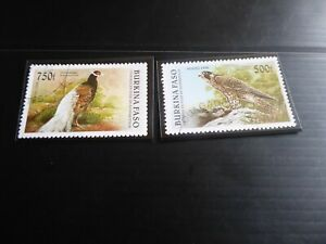 BURKINA FASO 1996 BIRDS MNH