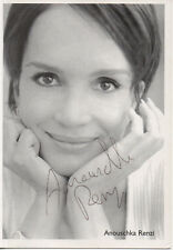 Autogramm - Anouschka Renzi