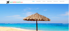 Profitable Established Flights/Hotel/Travel Turnkey Website For Sale-$1-$4/click