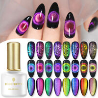 BORN PRETTY 6ml 9D Cat Eye Magnetic UV Gel Polish Soak Off Nail Varnish Decors