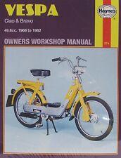 MANUALE Haynes 0374-VESPA CIAO, BRAVO 49.8cc (68 - 82) Limited Edition ri-Stampa