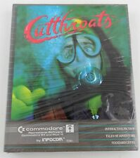 Cutthroats Game for Commodore 64 and Plus/4, 1984 New Sealed Box