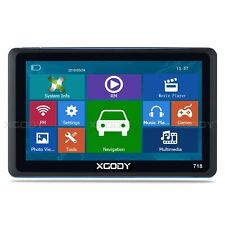 "XGODY 7"" GPS Navigation Truck Car Sat Nav UK EU Maps For HGV Lorry LGV"