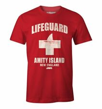 Official Jaws Movie Amity Island Lifeguard T-Shirt