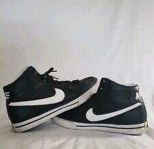 separation shoes 4acc8 09172 Nike Sweet Classic Hi Leather Black White 354701-011 Mens US Size 9.5