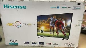 "Hisense H50M3300 50"" Inch Widescreen UHD 4K Smart LED TV"