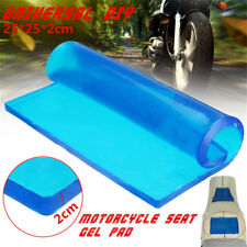 2cm Thickness Motorcycle Seat Gel Pad Polyurethane Elastic Fiber ShockAbsorption