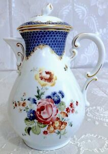 Coffee POT Large 1,5 L Hutschenreuther Maria Theresia Zwiebelmuster II choice