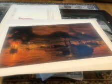 "Tom Lovell LTD SIGNED Edition Print ""Union Fleet Passing Vicksburg"" Civil War"