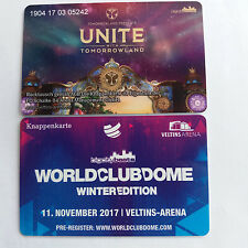 Knappenkarte Unite Tomorrowland Schalke 04 neue  Karte