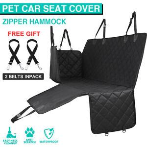 Premium Pet Back Car Nonslip Seat Cover Hammock Mat Protector Waterproof Dog Cat