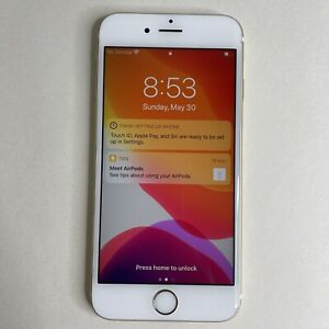 Apple iPhone 6s - 16GB - Rose Gold (AT&T Unlocked) A1633 READ Description