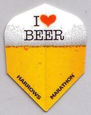 """Harrows Marathon Extra Strong Dart Flights """"I Love Beer"""""""
