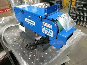 """230v 100mm/4"""" Bench Top Abrasive Belt Linisher/Grinder/Sander 2 HP- MetallKraft"""