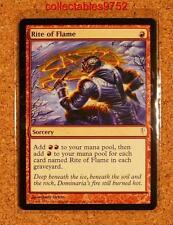 2006 MTG MINT TRADING CARD RITE OF FLAME - SORCERY LLC 96/155