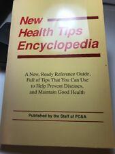 New Health Tips Encyclopedia (1989, Paperback)