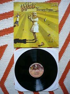 Genesis Nursery Cryme Vinyl Portugal 1971 1st Press Charisma Large Mad Hatter LP