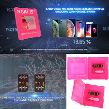 R-SIM15 Card Unlocked Tarjeta RSIM Para iPhone 11 Pro Max/11 Pro/11 iOS13 System