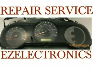 INSTRUMENT CLUSTER REPAIR SERVICE, FOR 2002 TO 2004 NISSAN FRONTIER, XTERRA