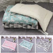 Small Large Dog Bed Warm Fleece Cushion Sleep Mat Mattess for Kennel Crate S-XL