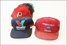 13 Vintage Snapback Hat Lot mesh trucker cap valvoline racing SAN FRANCISCO NFL